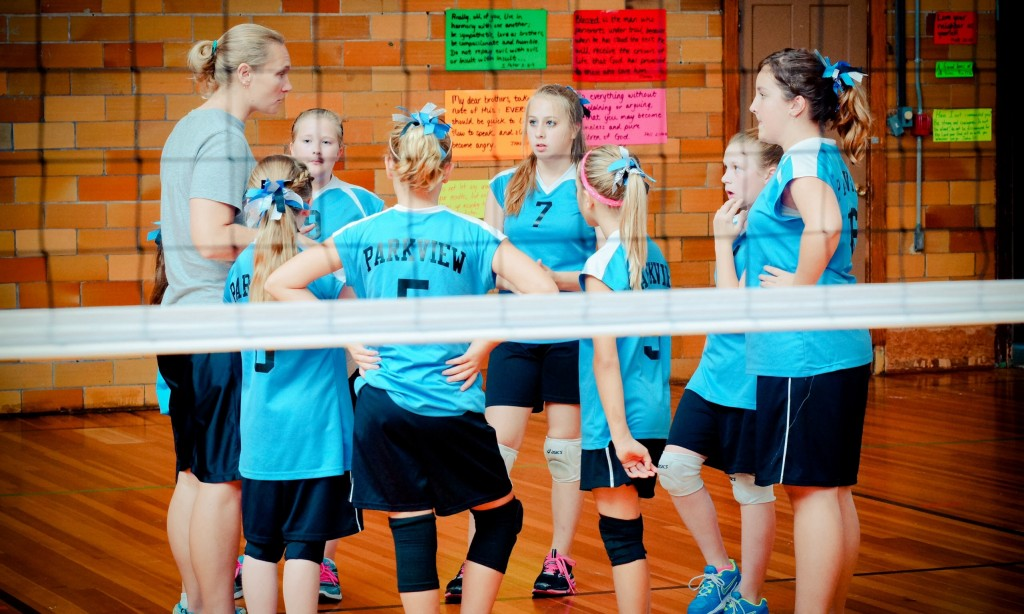 Parkview Christian Yorkville Volleyball
